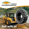 Chinese good price 23.5-25 Solid Loader Tyres with Mould on Wheel