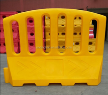 DINGWANG Customized Colour Plastic Trafic Barrier Construction Road Barrier