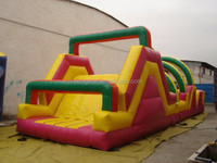 Top quality Special Inflatable Obstacle Course Games EN14960 For Children