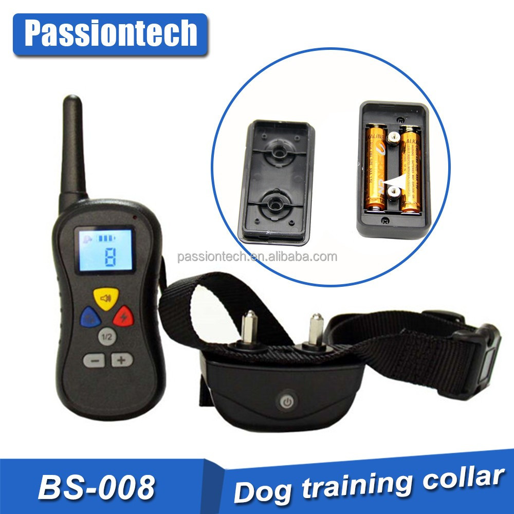 new technology for electric pet dog training collar with remote 330 yards