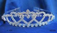 CG-HG193 fashion pageant wedding king tiara crown