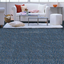 PP Loop Pile Broadloom Blue Exhibition Carpet