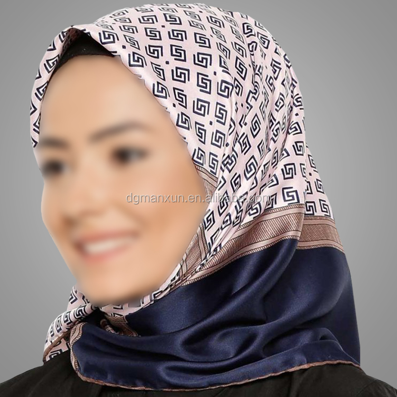 New Style Hijab Fashion Printing Arabic Women Scarves Customized Turkish Shawl