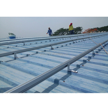 solar pitch metal roof mounting system
