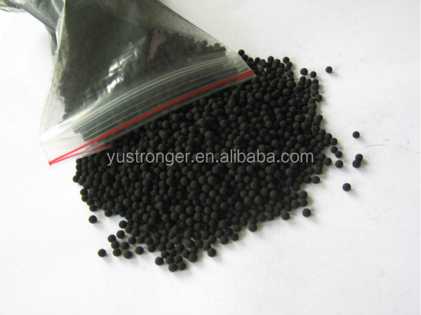 granular activated carbon size 6-8mm with Iodine 400-600