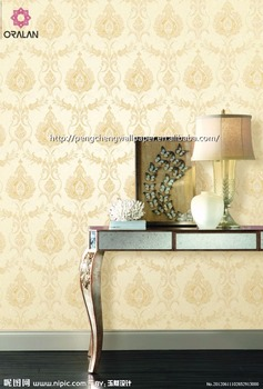 Sound absorbing Wallpaper for home decoraton durable wallpaper
