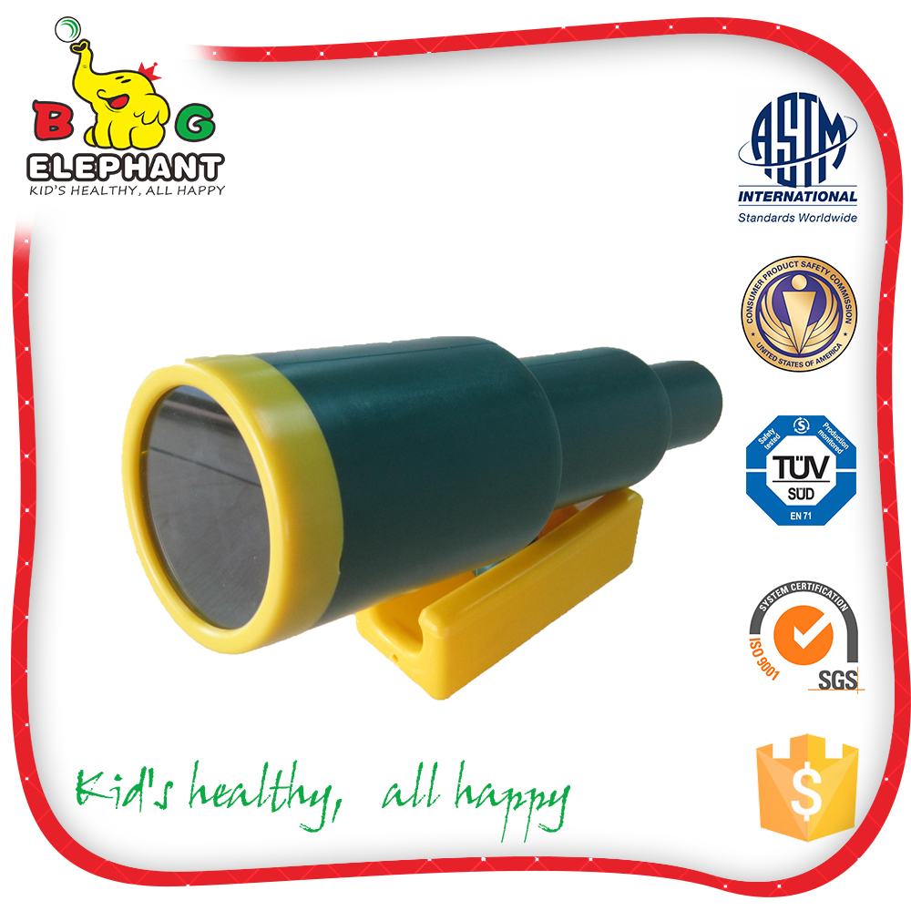 Factory BIG ELEPHANT children educational plastic telescope toy