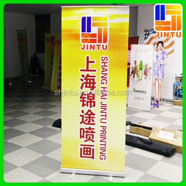 portable advertising equipment rollup banner stand/pull up banner stand