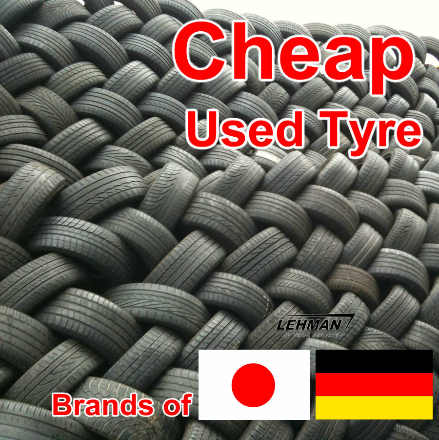 Large Quantity Cheap Quality Japan Japanese Used Tyre