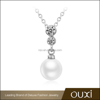 2016 OUXI Fashion pearl pendant necklace jewelry 11294-1