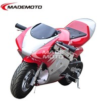Big Discount 49cc 2 Stroke Pocket Bike for Promotion