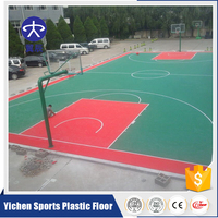 Top sales PP table tennis court interlocking futsal flooring