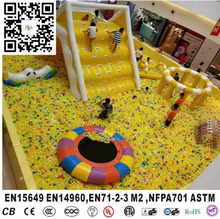 Giant Commercial Grade Inflatable Indoor Ball Pool Playground with Slide Trampoline Obstacle Course for Children