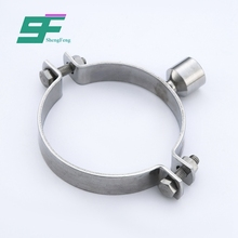 ShengFeng Hygienic stainless steel round tube pipe clamp 316