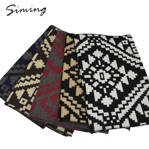 High quality wholesale custom designable knitted scarf
