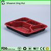 Wholesale dispasable PP blister takeaway food compartment tray