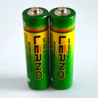 High performance AA R6 dry cell battery 1.5V