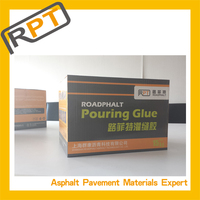 Asphalt concrete road crack filler repair material