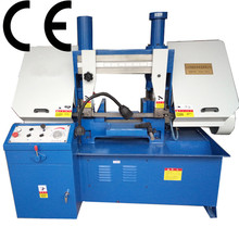 Horizontal double-column hydraulic CNC metal sawing machine