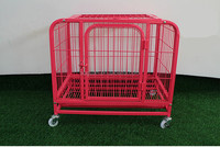 High Quality Home & Garden Heavy Duty Metal Square Tube Dog Cage / Dog Kennel / Pet House