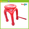 football inflatable round birthday sofa/ air chair seats partable