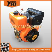 YASHIDA 186FE 10HP Single Cylinder Air Cooled Diesel Engine Light Vertical Type Electric Starting