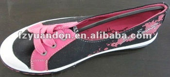 2013 fashional Flat Canvas Shoes for lady