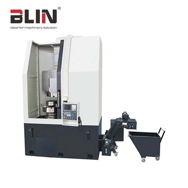 New type BL-VK650/850 wheel CNC vertical turret lathe with Automatic Chip Conveyor from China