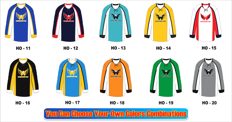 Digital Print Top Selling Hockey Jersey accept custom service