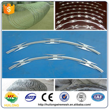 Wholesale Razor Wire Fence Suppliers Price/Fencing Type Razor Barbed Wire Razor/Barbed Wire Mesh Fence