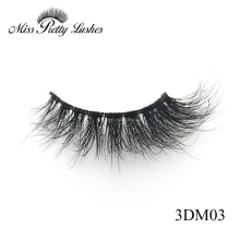3D Mink Eyelashes Customzied Designs Handcrafted 3D Real Mink Fur handmade false eyelashes
