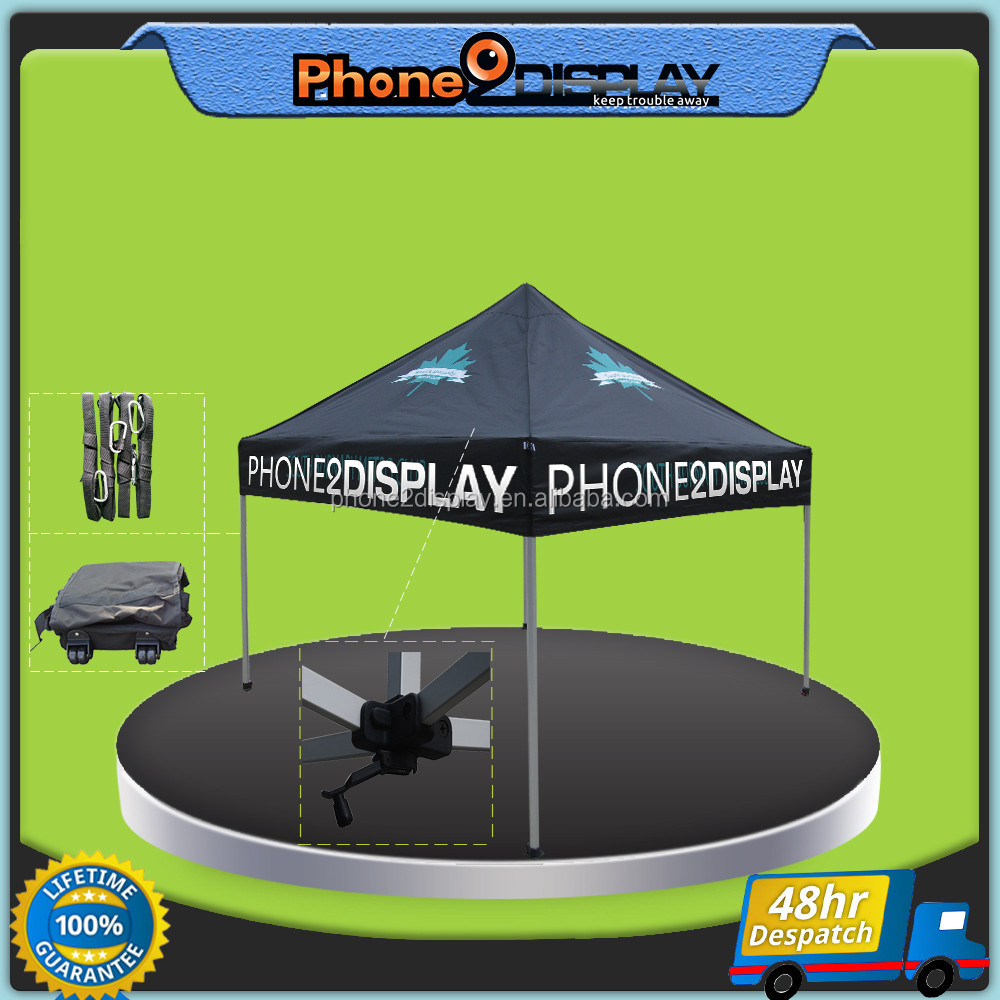 10ft Advertise Fold Outdoor easy up Trade Canopy for booth exhibition