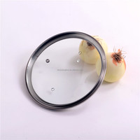G TypeTempered glass pan cover with refined rim 16cm