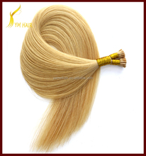 customize ombre color very cheap hair extensions virgin brazilian remy human hair I stick tip hair extension