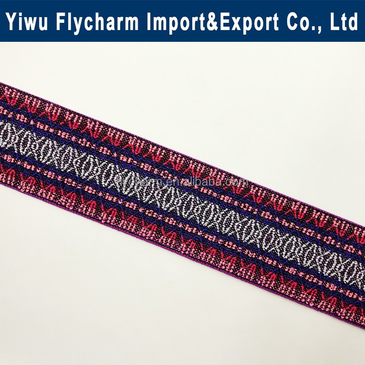 High quality jacquard elastic band for garments