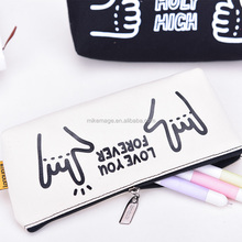 Languo canvas pencil pouch, for school model:LG-8631