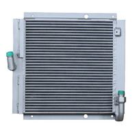Customized vacuum brazed aluminum oil cooler