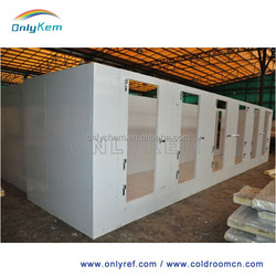 restaurant cold room for meat & vegetable storage with led