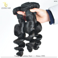 Top Grade Unprocessed High Quality Extension Cheap 100% Human Hair Training Doll Head