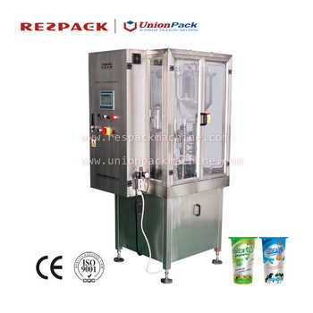 Rotary Plastic Cup Filling & Sealing Machine