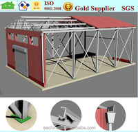 Prefabricated galvanized Industrial, Commercial and Residential Steel Structure Building