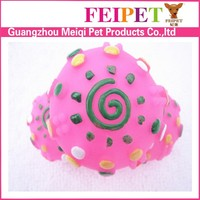 free pattern soft rubber ball with teeth dog toy for chewing cheap
