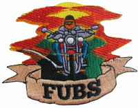 The Fubs Chicago Cubs Parody Baseball embroidered patch
