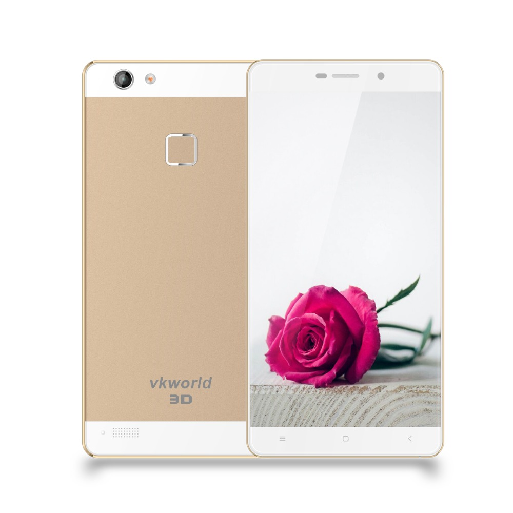 Original VKWORLD Discovry S2 5.5 inch Android 5.1 2GB/16GB MTK6735 Quad Core 13MP 4G Smart Phone with Metal Frame 3D Free Eye