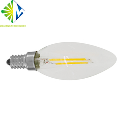 4W 6W E12 E14 Dimmable LED Filament Bulb