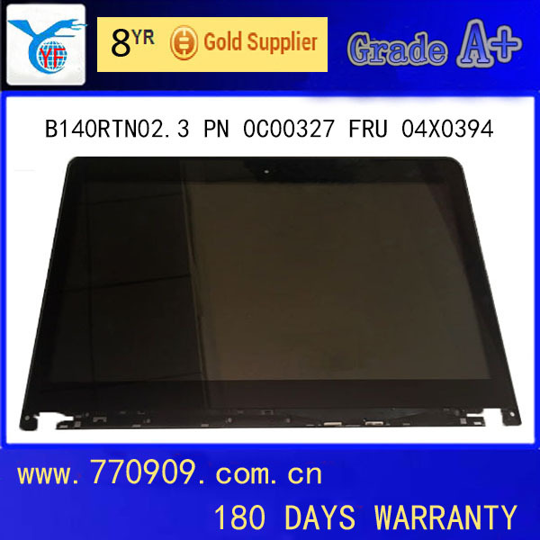 Cheap Touch Screen LCD Digitizer Monitor B140RTN02.3 FRU 04X4193 04X4195 HD+ AG for E440 S440 L440 T431S T440S T430
