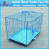 2016 Pet folding metal puppy crates dog cage