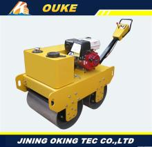 Multifunctional 600mm mini roller,Honda engine used asphalt rollers for sale,walking vibratory road roller with low price