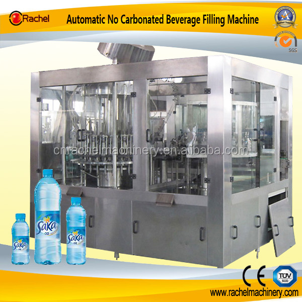 No Carbonated beverage Washing Filling Capping Packing Line
