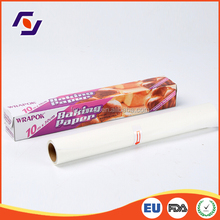 Wrapok custom silicon greaseproof parchment baking paper